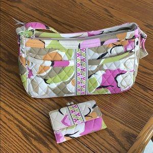Vera Bradley purse and matching wallet